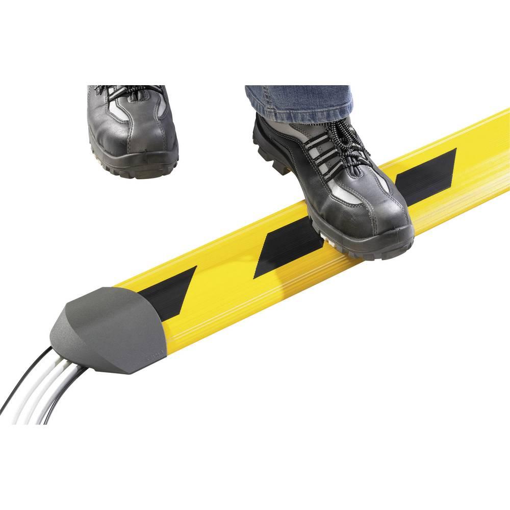 Talna zaščita za kable Security 5.01002.100, (D x Š ) 1,5 m x 150mm, rumeno-črne barve Serpa
