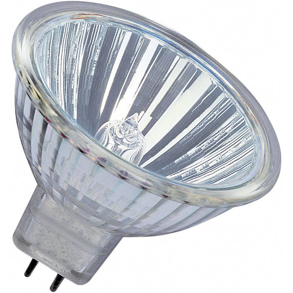 Nizkonapetostna halogenska žarnica Osram Star, GU5.3, 50 W,prozorna, reflektorska, 2.000 4008321200440