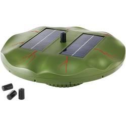 Plavajoči solarni vodomet za ribnik v obliki lokvanja Esotec 101770