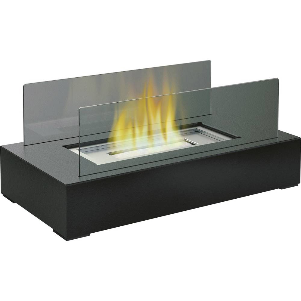 Namizni kamin FireFriend DF-6500 antracitne barve