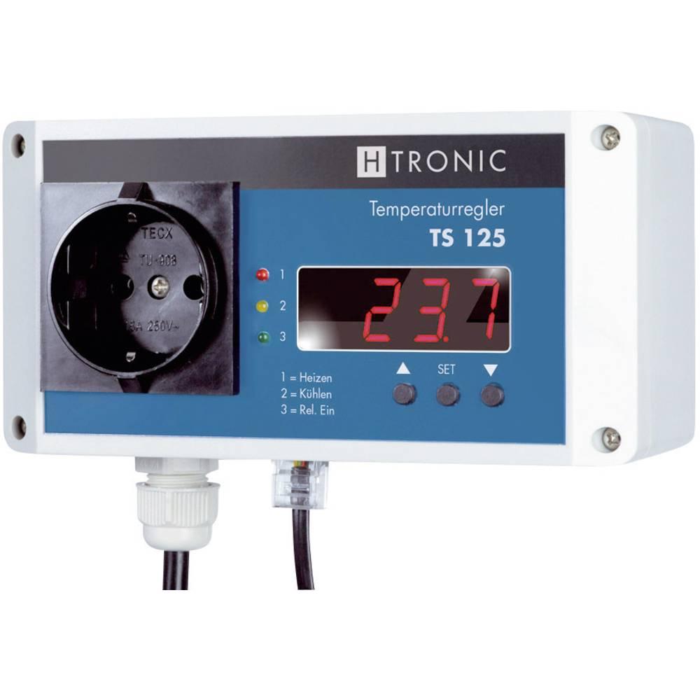 Obtočni kontrolnik -55 do 125 °C 3000 W H-Tronic TS 125, IP20 11900