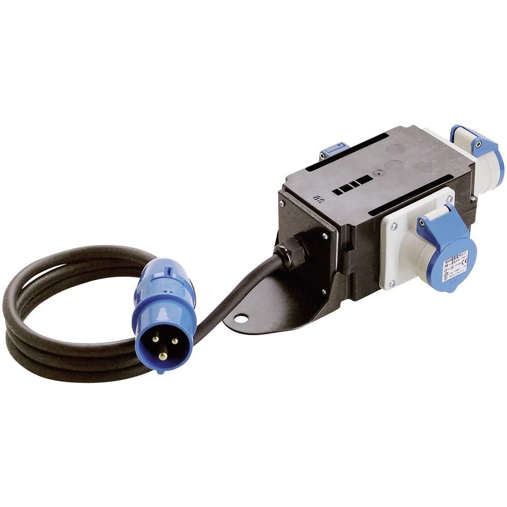 Elektr. razdjelnik AS Schwabe60496 Cara, CEE, 16 A, 230 V/AC, H07RN-F 3G, 2,5 mm2, IP44