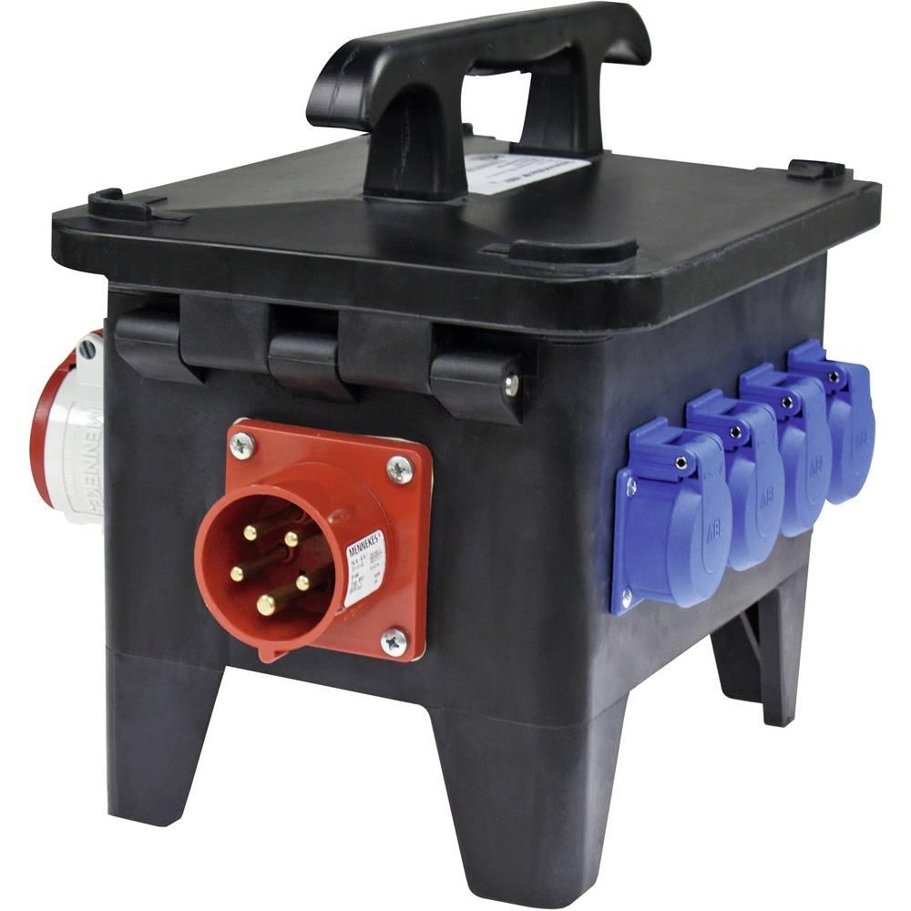 Gradbeniški električni razdelilnik AS Schwabe 6055 M1 CEE 16 A 16 A 1 CEE-vtič 16 A, 5 polni 400 V IP44