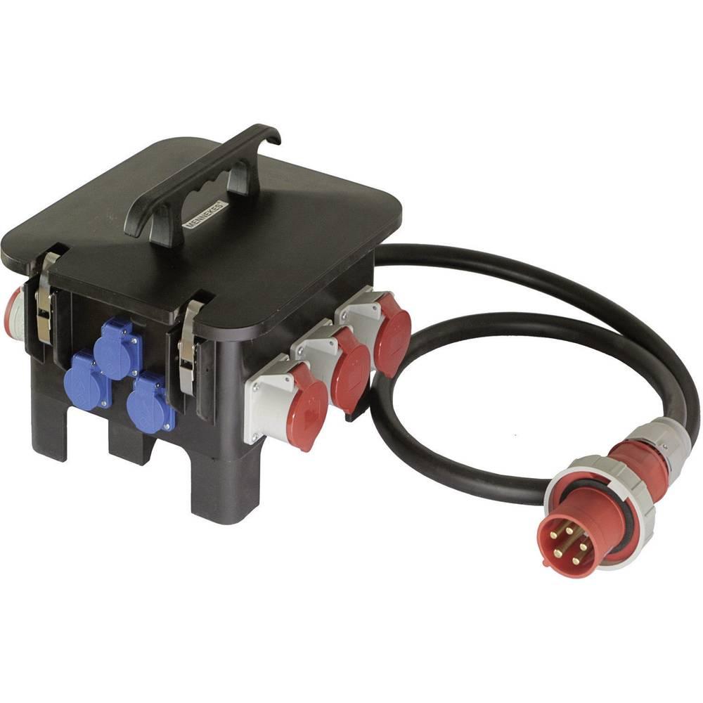 Gradbeniški električni razdelilnik AS Schwabe 60561 M6 CEE 63 A 63 A 1 CEE-vtič 63 A, 5-polni 400 V IP44