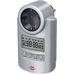 Vremenski uklopni sat za utičnicu, digitalni, tjedni program Brennenstuhl 1507500 3680 W IP20 funkcija odbrojavanja