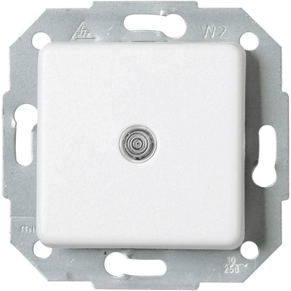 Kopp izklopno/izmenično stikalo osvetljeno EUROPA bele barve 613698083