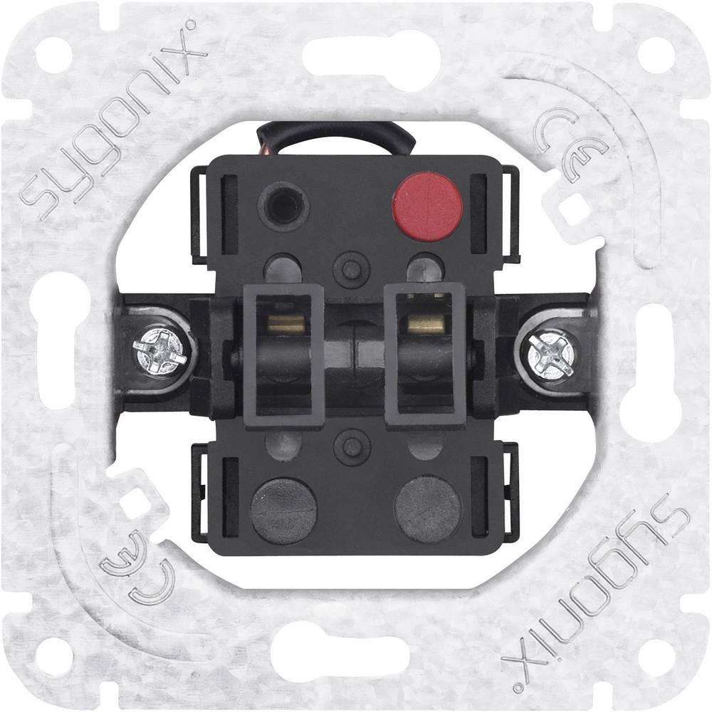 sygonix 33597R Prekidač za žaluzine, bijeli, mat