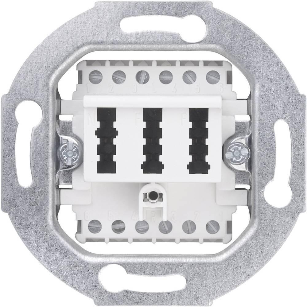 sygonix 33599X Priključak TAE,2x6/6, NFF, bijeli, sjajan