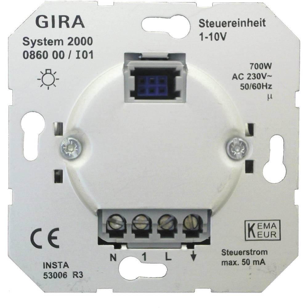 GIRA ugradni dio prigušivač svjetla standard 55, E2, Event Klar, Event, Event Opak, Esprit, ClassiX, sistem 55 086000