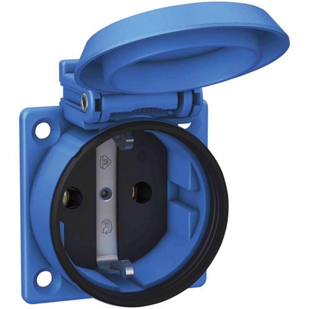 Vgradna vtičnica ABL Sursum 1561050, modre barve, 230 V/AC,maks. obremenljivost: 16 A