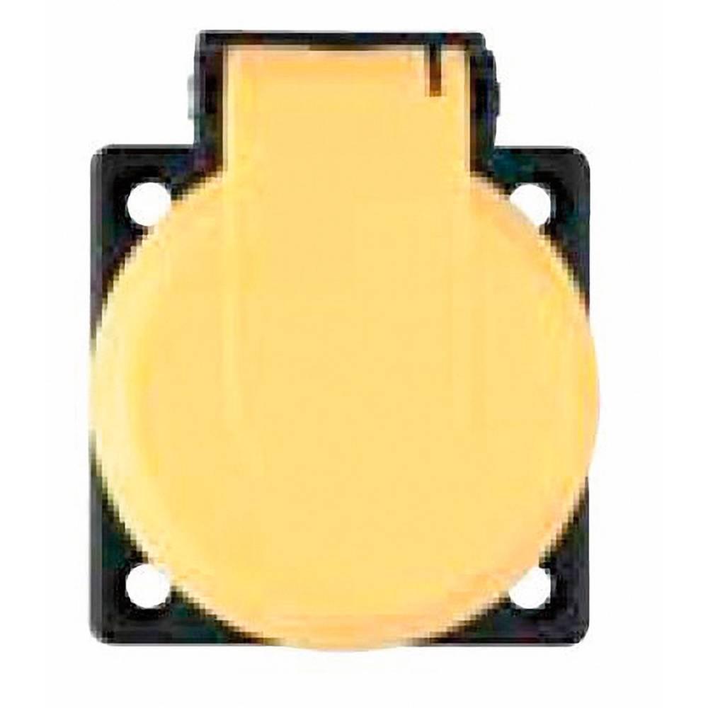 Vgradna vtičnica ABL Sursum 1561030, rumene barve, 230 V/AC,maks. obremenljivost: 16 A
