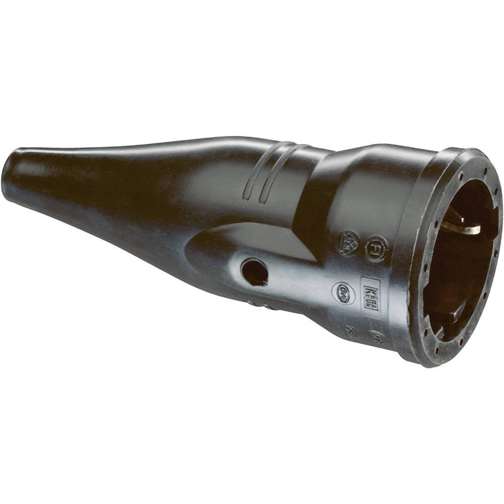 Električna vtičnica ABL Sursum1479090, material: guma, črnebarve