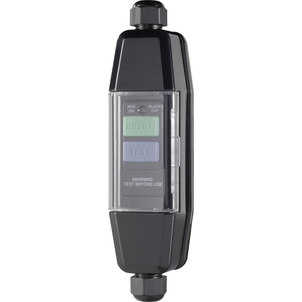 Mellemafbryder Plast med PRCD 230 V Sort IP55 552922