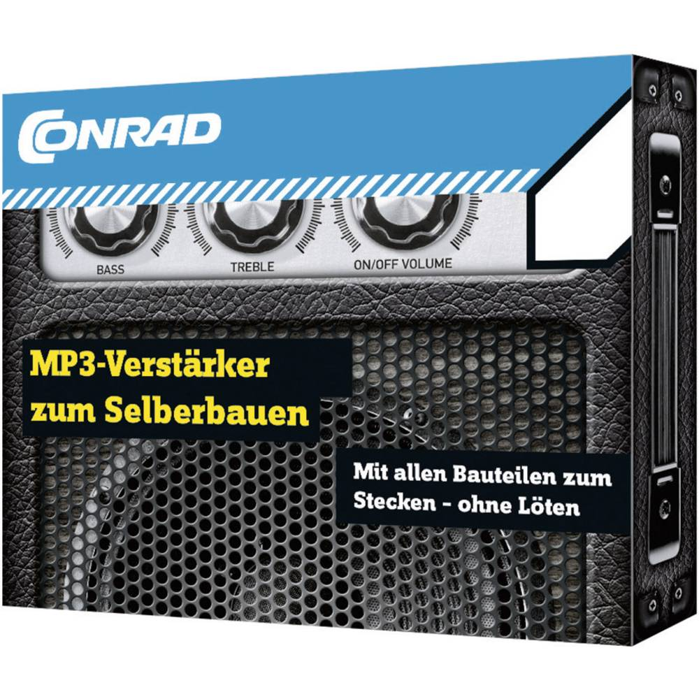 MP3-ojačevalnik, komplet za sestavljanje 10128 Conrad