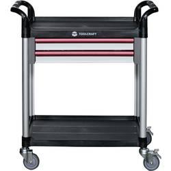 TOOLCRAFT servisna kolica, 2 ladice mjere:(D x Š x V) 760 x 490 x 965 mm