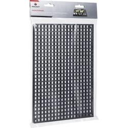 Zid od perforiranih ploča278 mm x 194 mm x 12 mm TOOLCRAFT