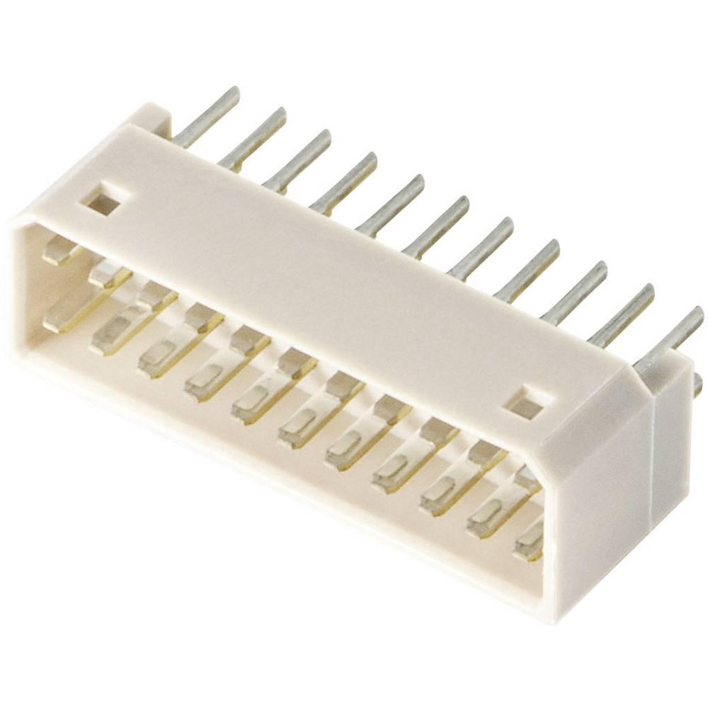 Pinsko ohišje za tiskano vezje JST 22P-JED, mere: 1.25 mm 1 kos