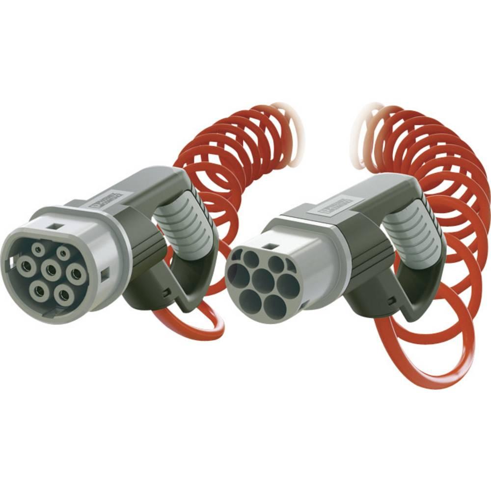 eMobility polnilni kabel Phoenix Contact 1404563 [ tip 2 - tip 2] 4 m spiralni kabel