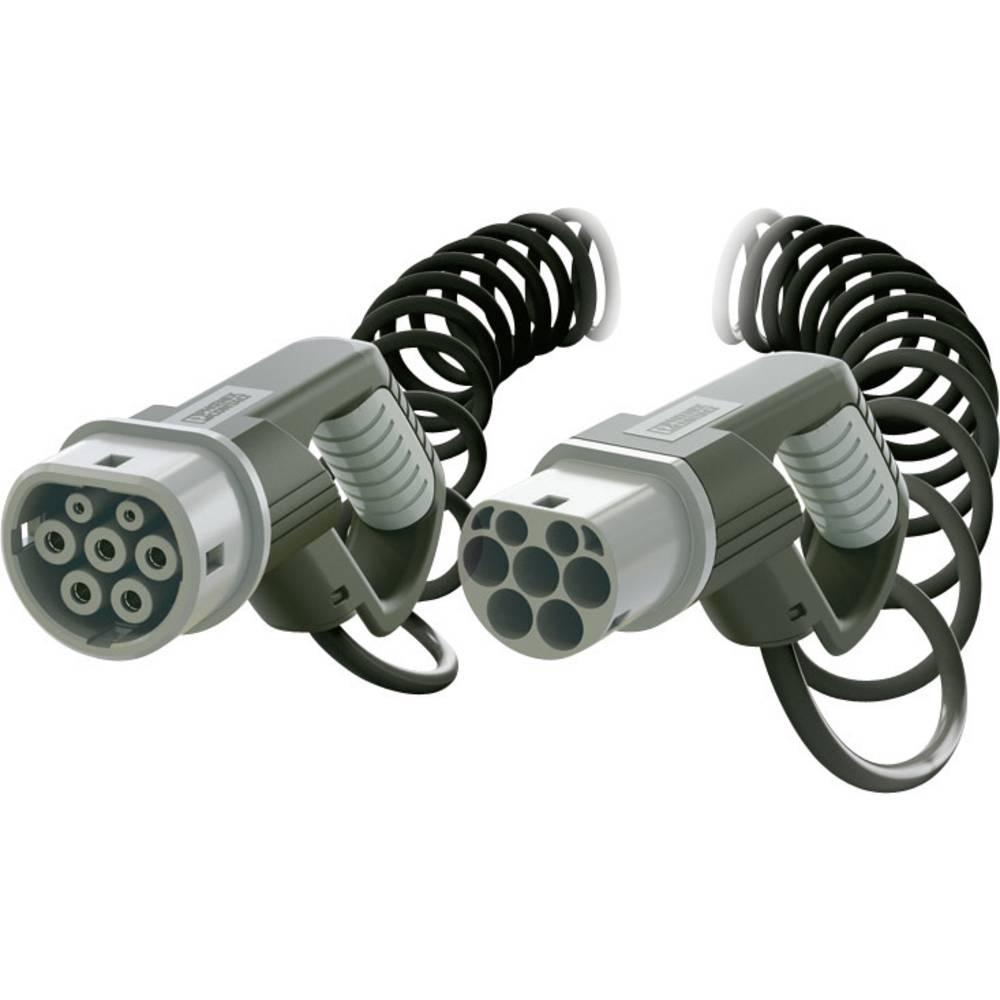 eMobility polnilni kabel Phoenix Contact 1405192 [ tip 2 - tip 2] 4 m spiralni kabel