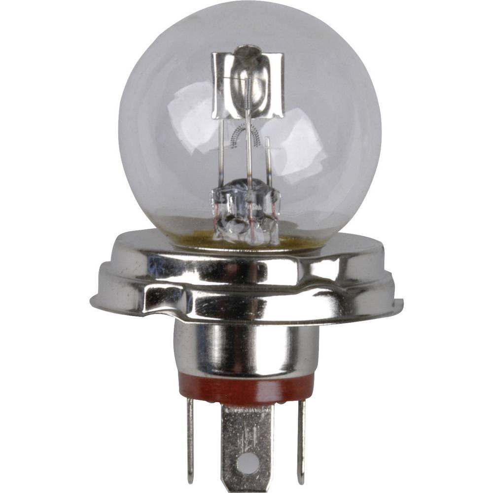 Avtomobilska standardna halogenska žarnica Unitec, R2, 12 V, 1 par, P45t, prozorna 77741