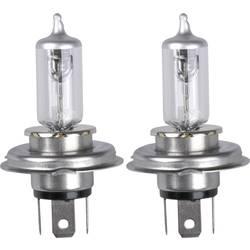 Avtomobilska halogenska žarnica Unitec Xenon Mega White, H4, 12 V, 1 par,P43t, prozorna 77780