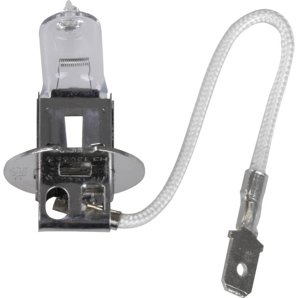 Avtomobilska standardna halogenska žarnica Unitec, H3, 12 V, 1 par, PK22s, prozorna 77785