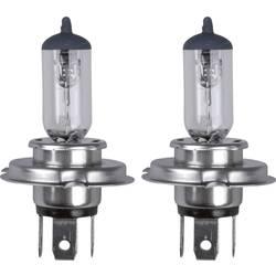 Avtomobilska standardna halogenska žarnica Unitec, H4, 12 V, 1 par, P43t, prozorna 77838