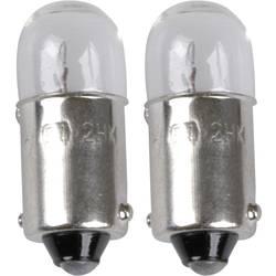 Avtomobilska standardna žarnica Unitec, T4W, 12 V, 1 par, BA9s, prozorna 77833