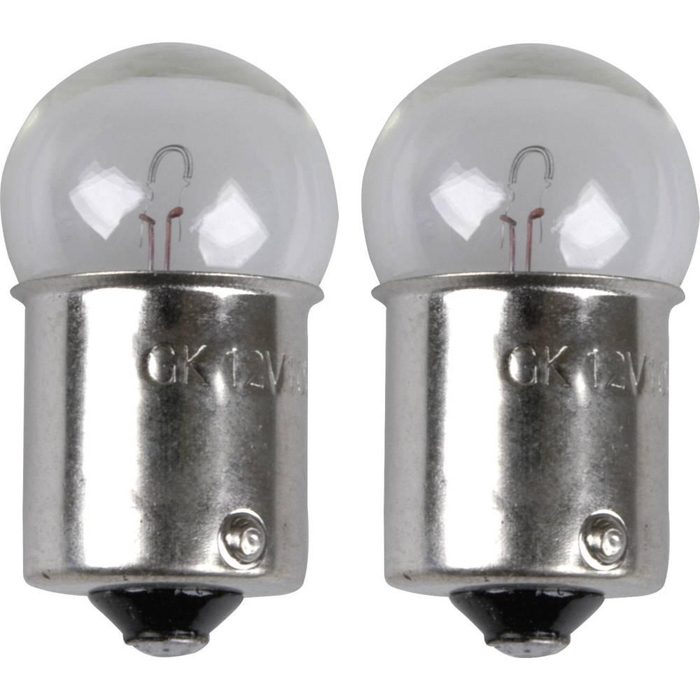 Avtomobilska standardna žarnica Unitec, R10W, 12 V, 1 par, BA15s, prozorna 77845