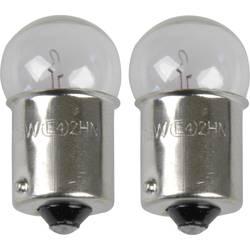 Avtomobilska standardna žarnica Unitec, R5W, 12 V, 1 par, BA15s, prozorna 77831