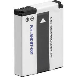 Kamerabatteri Conrad energy Ersättning originalbatteri AHDBT-002 GoPro Hero HD, HD 2 3.7 V 1100 mAh