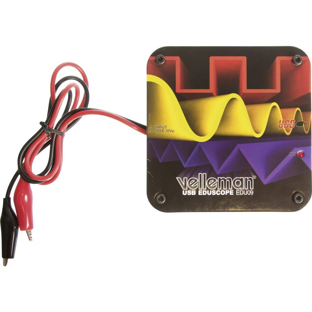 Velleman osciloskop učilni paket za PC komplet 5 V EDU09