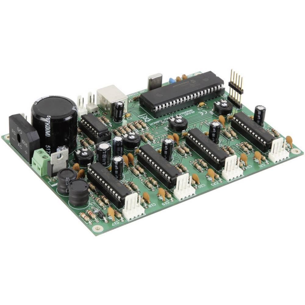Velleman 4-kanalna kartica za koračni motor z USB vmesnikom, obratovalna napetost 5-30 V/AC, fazni tok (maks.) 1 A
