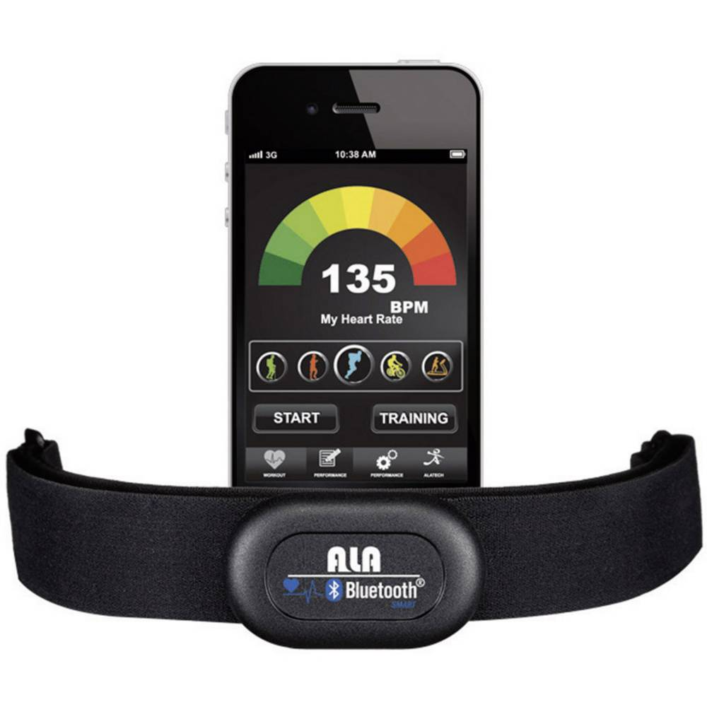 Prsni remen Alatech Smartrunner sa funkcijom Bluetooth