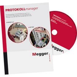 Programska oprema Megger PROTOKOLLmanager za testerje PAT410, PAT450 in MFT1835