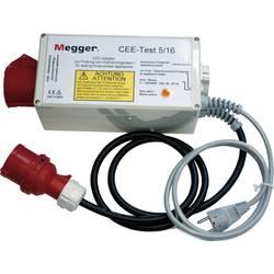 Adapter za trifazni tok Megger CEE-Test 5/16, primeren za testerja naprav PAT300 in PAT400, DE-050