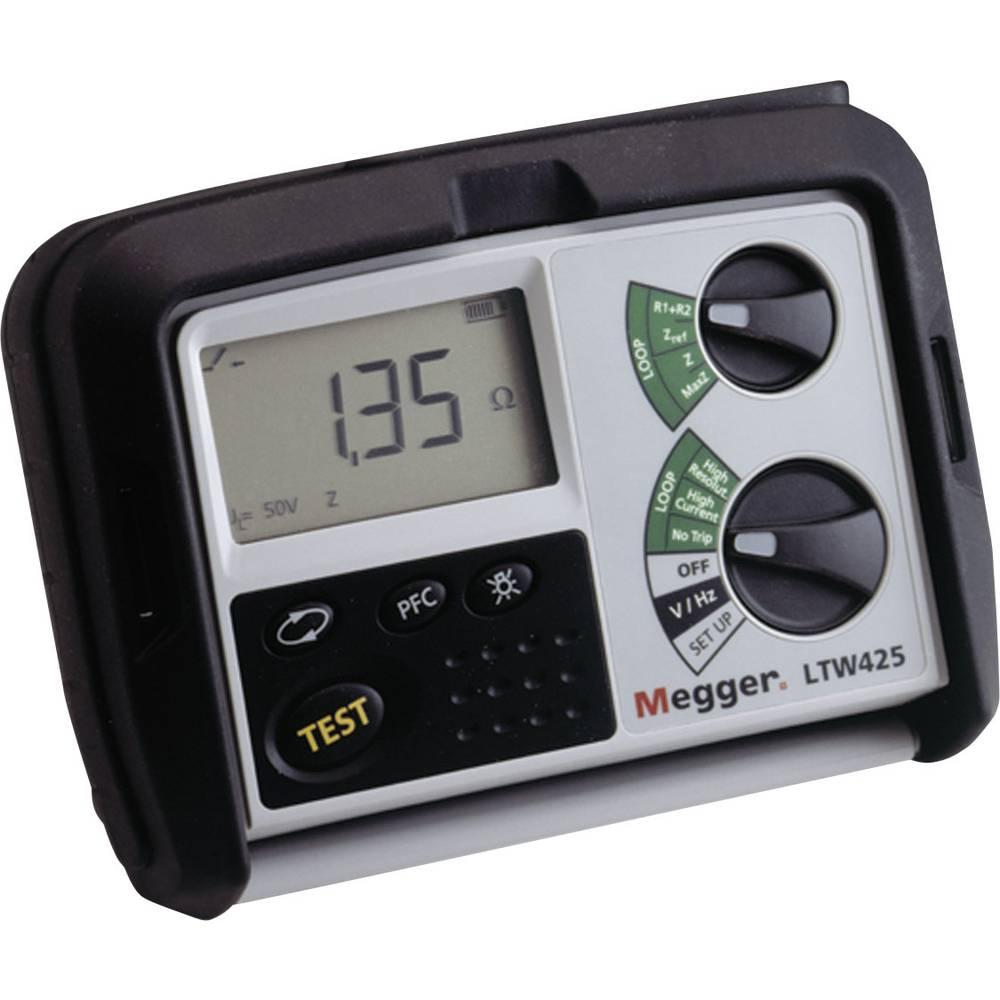 Megger LTW425 merilna naprava za impedanco, meritve prek DIN VDE 0100-600, DIN VDE 0105-100
