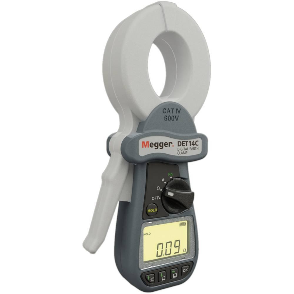 Megger DET14C merilnik ozemljitve in ozemljitvene upornosti, DIN VDE 0413-5, EN61557-5 CAT IV / 600 Volt