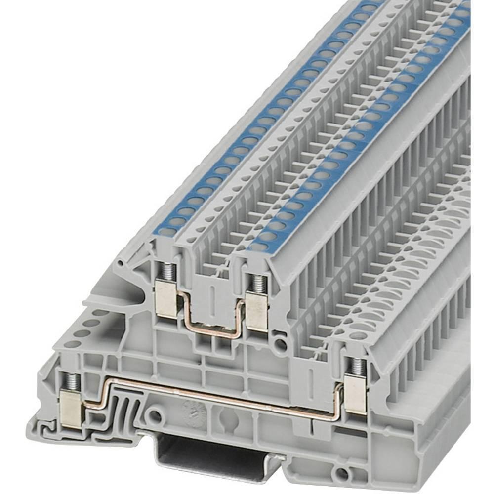 Installation tier terminal UTI Phoenix Contact UTI 2,5-L/N Grå 1 stk