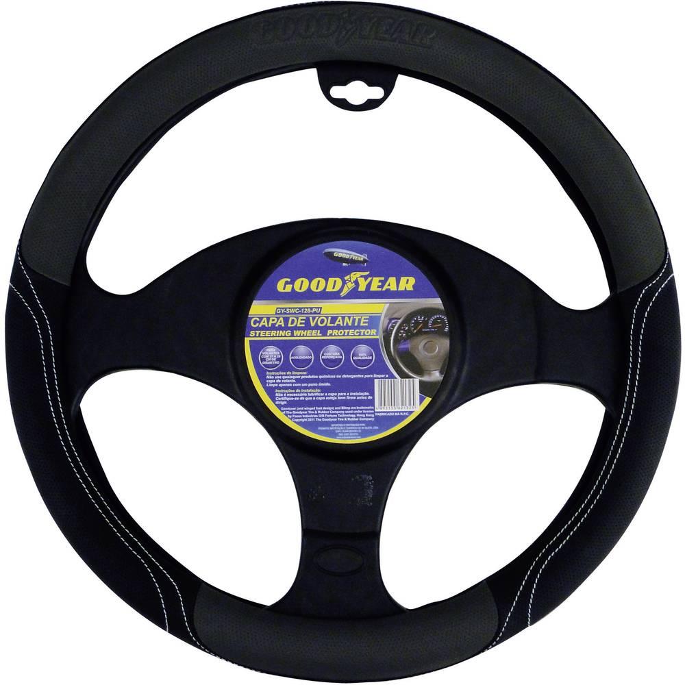Prevleka za volan Goodyear, črno-srebrne barve 75527