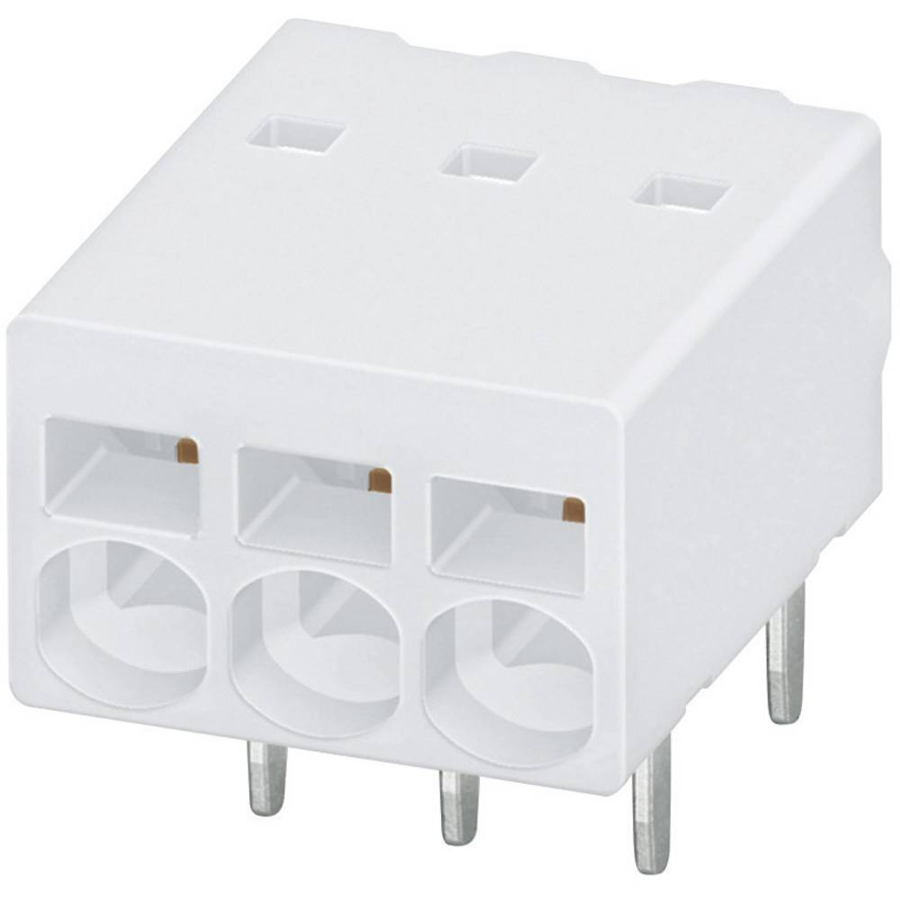 Fjederkraftsklemmeblok Phoenix Contact PTSM 0,5/ 8-2,5-H THR WH R32 0.50 mm² Poltal 8 Hvid 1 stk