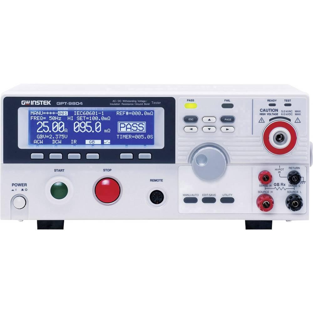 GW Instek GPT-9804 AC/DC-merilnik izolacije 0.1 - 5 kV/AC; 0.1 - 6 kV/DC, 200 VA