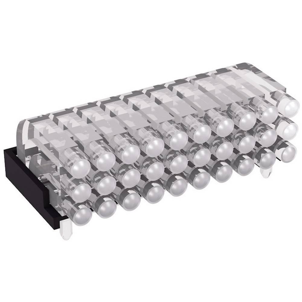 Miniaturna večdelna optična vlakna, ležeča Mentor 1296.2013 primeren za SMD LED 0603