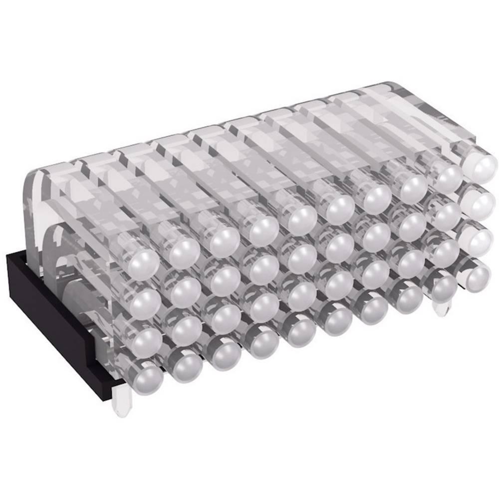 Miniaturna večdelna optična vlakna, ležeča Mentor 1296.2054 primeren za SMD LED 0603