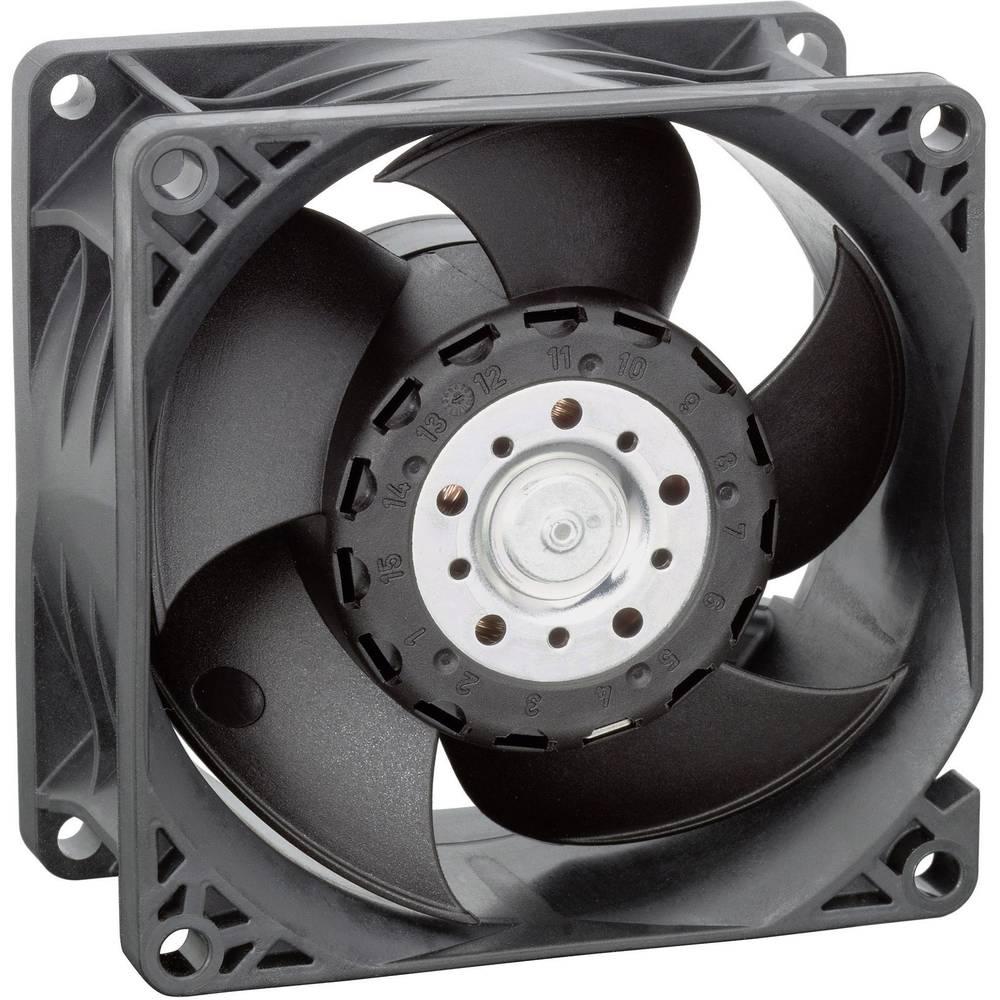 Aksialni ventilator 24 V/DC 222 m/h (D x Š x V) 80 x 80 x 38 mm EBM Papst 8214 JH4