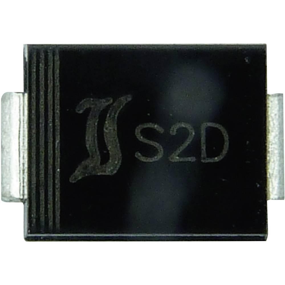 Ultra hitra Si-usmerniška dioda Diotec US2G DO-214AA 400 V 2 A