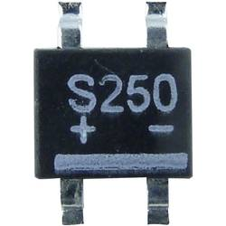 Mostični usmernik TRU Components TC-S250K TO-269AA 400 V 1 A enofazni