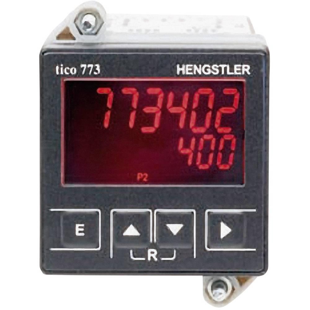 Hengstler Tico-MFH-100-240VAC-TR-2-USB multi-funkcijski števec Tico 773 z USB vmesnikom, 100 - 240 V/AC mere 45 x 45 mm