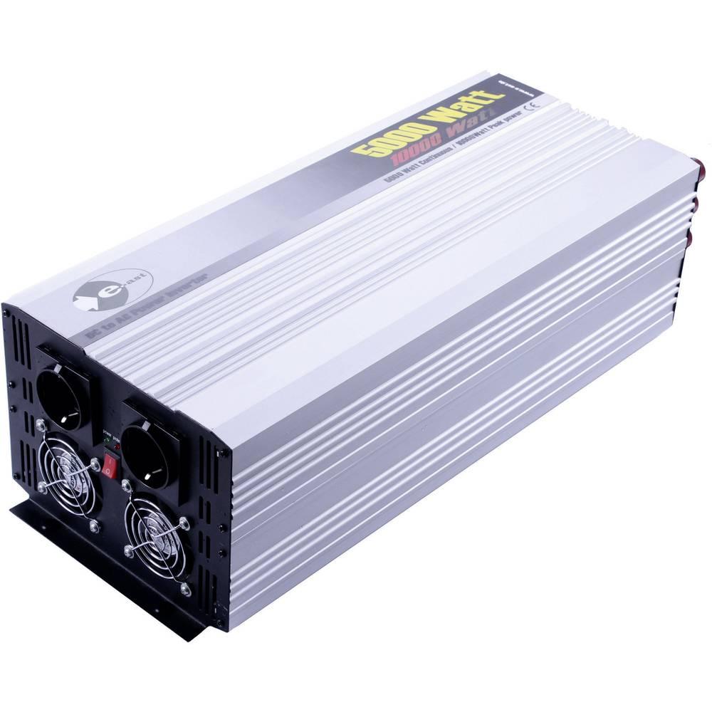 Razsmernik e-ast HPL5000-24 5000 W 24 V/DC 24 V/DC (22 - 30 V) standardni vtič, varnostna vtičnica
