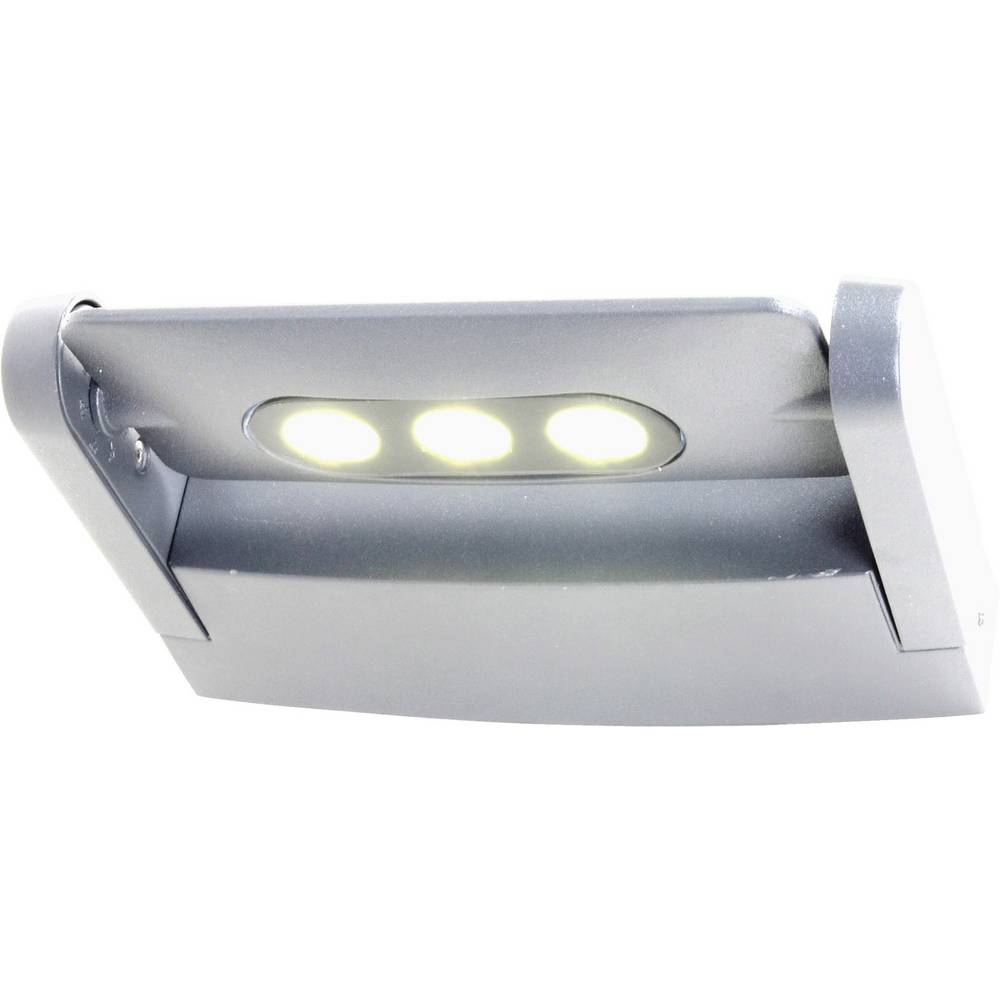 LED-Zunanja stenska luč 9 W nevtralna bela ECO-Light 6144 S1 gr antracitna